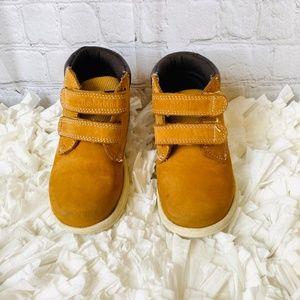 Timberland Kids Tracks H&L Boot Wheat/Nubuck (sz9)